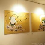 【銀座】くまくら珠美個展「猫と空と祈りと」を見に行きました