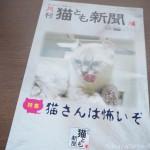 『月刊猫とも新聞』2019年9月号の特集は「猫さんは怖いぞ」です