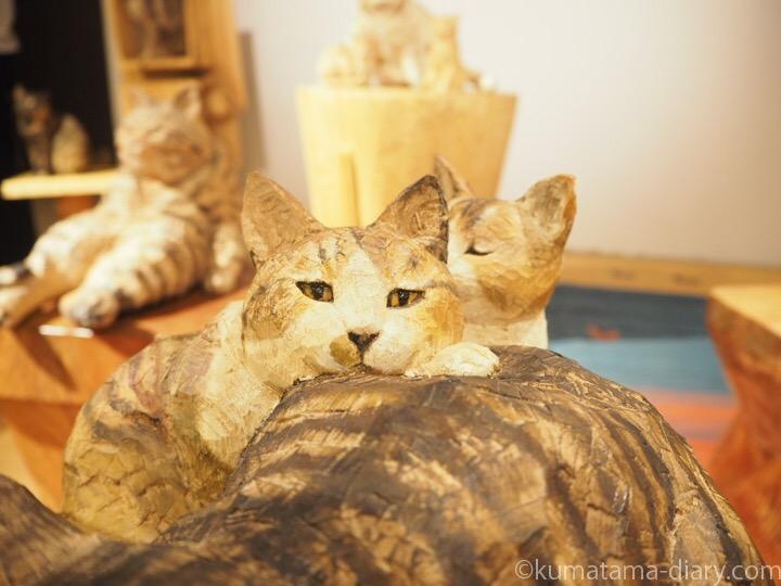 木彫り猫ボニーくんの子供