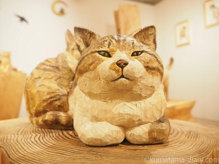 木彫り猫ボニーくん