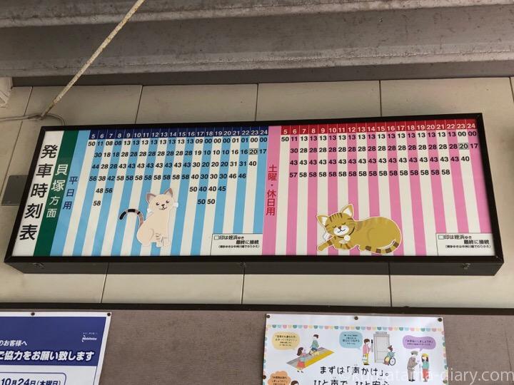 西鉄新宮駅時刻表