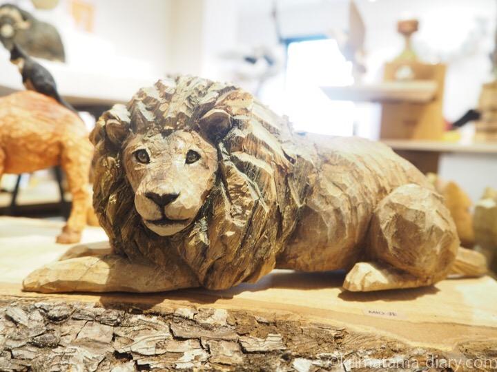 はしもとみおさんライオン