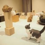 バンナイリョウジ個展「小さな木彫りのねこ5」を見に行きました〜その2〜