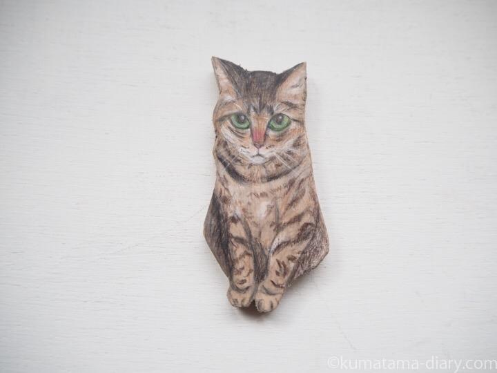 キジトラ猫さんマグネット