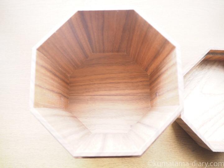 木製骨壺ケース内側