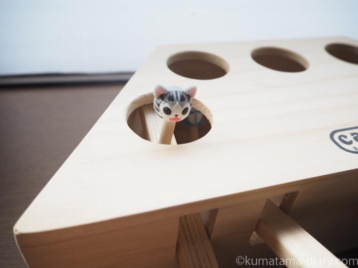 Lemonda 猫おもちゃ モグラ叩き