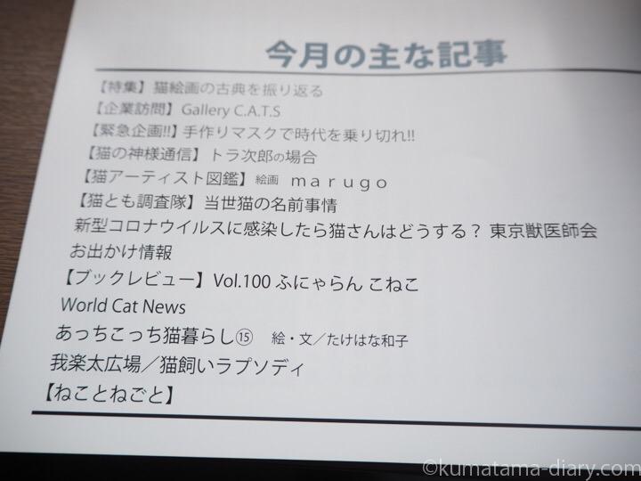 月刊猫とも新聞目次
