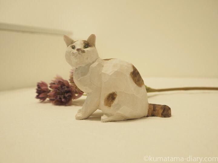バンナイさん木彫り猫