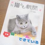 『月刊猫とも新聞』2020年7月号の特集は「猫さんは丸でできている」です