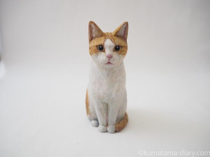 たまき木彫り猫