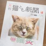 『月刊猫とも新聞』2021年3月号の特集は「猫灸」です