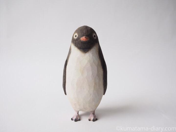 ペンギン木彫り