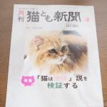 『月刊猫とも新聞』2021年6月号の特集は『「猫は液体」説を検証する』です