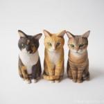 アニマルコミュニケーションと木彫り猫