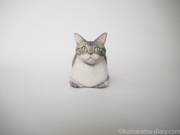 ミードくん木彫り猫